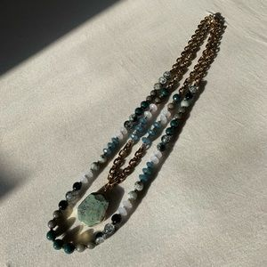 Jewelry - Teal Double necklace
